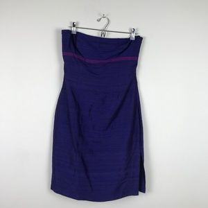 100% Silk Guess Collection Strapless Mini Dress 6